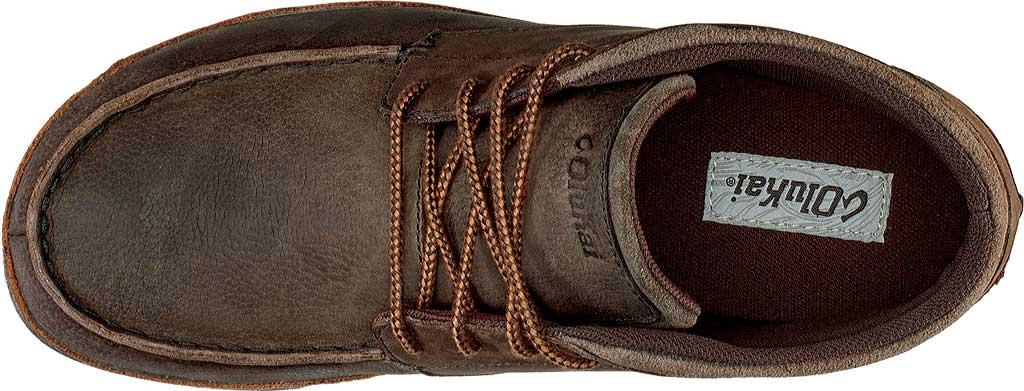 Men's OluKai Hamakua Ankle Boot, Dark Wood/Toffee, large, image 3