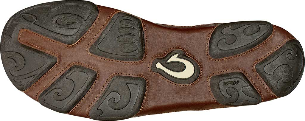 Men's OluKai Hamakua Ankle Boot, Dark Wood/Toffee, large, image 4