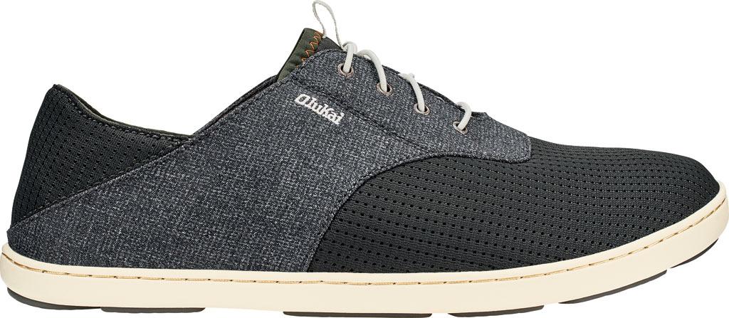 Men's OluKai Nohea Moku Sneaker, Dark Shadow/Dark Shadow, large, image 1
