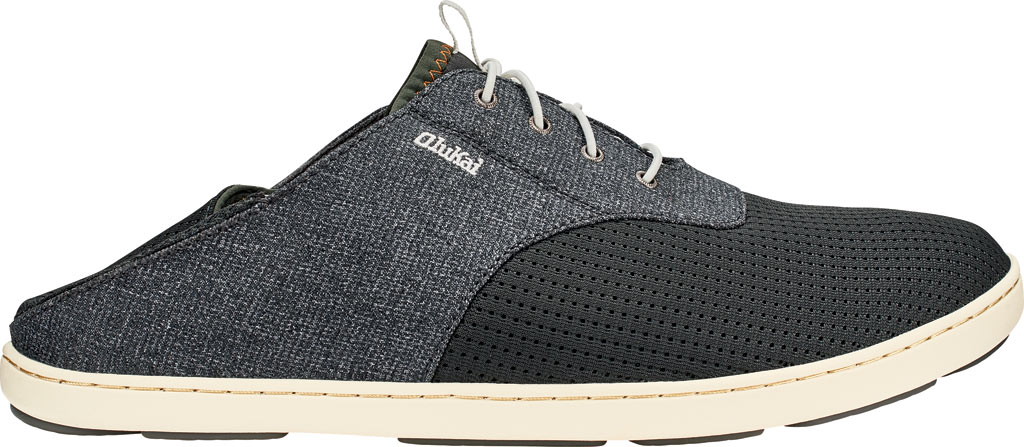 Men's OluKai Nohea Moku Sneaker, Dark Shadow/Dark Shadow, large, image 2