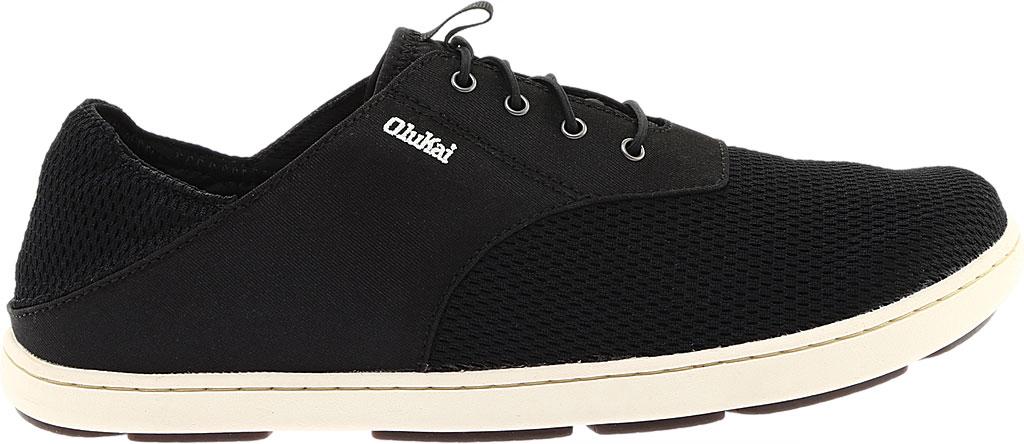 Men's OluKai Nohea Moku Sneaker, Onyx/Onyx, large, image 2