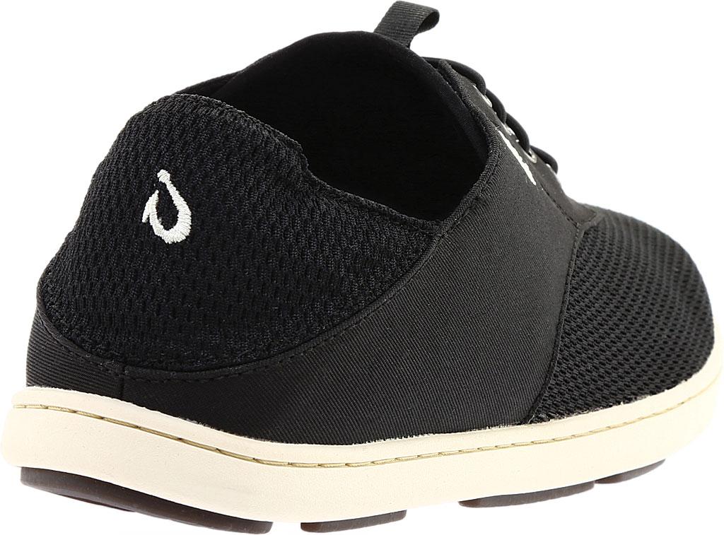 Men's OluKai Nohea Moku Sneaker, Onyx/Onyx, large, image 4