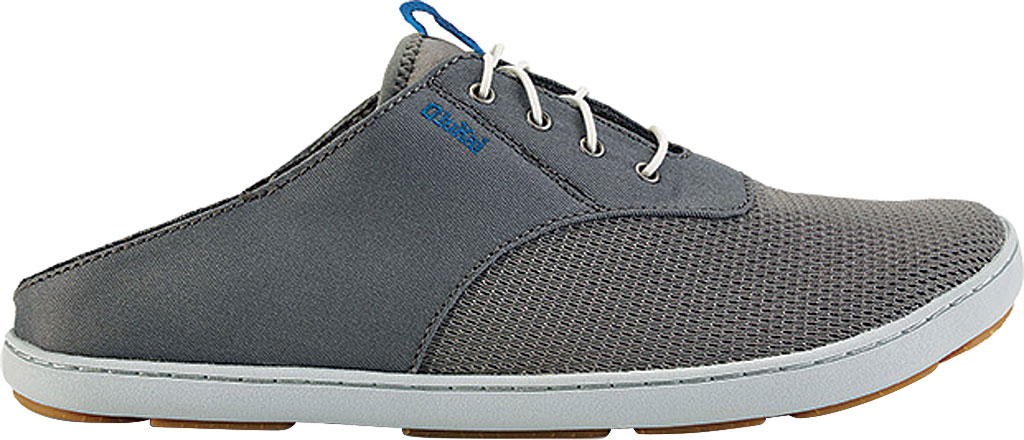 Men's OluKai Nohea Moku Sneaker, Fog, large, image 1
