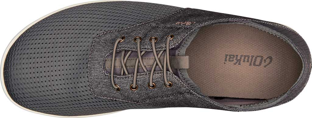 Men's OluKai Nohea Moku Sneaker, Charcoal/Clay Mesh, large, image 3