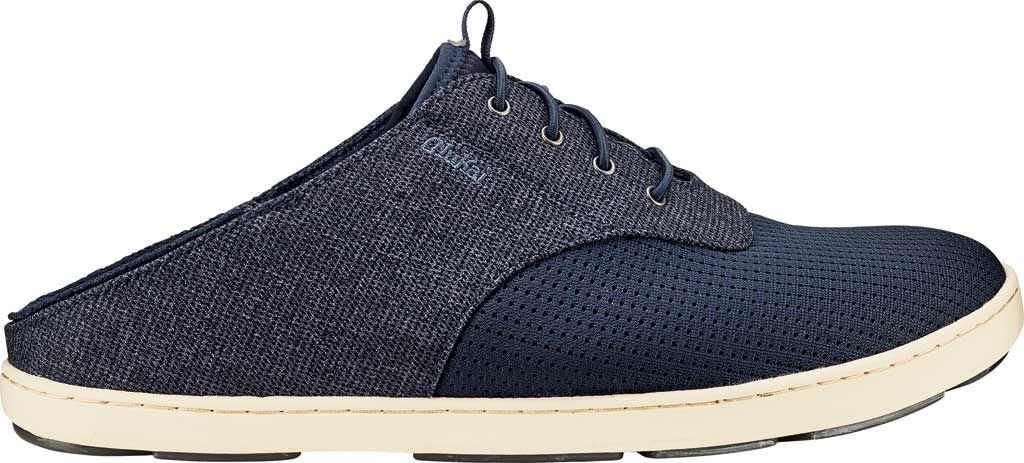 Men's OluKai Nohea Moku Sneaker, Night/Night Mesh, large, image 2