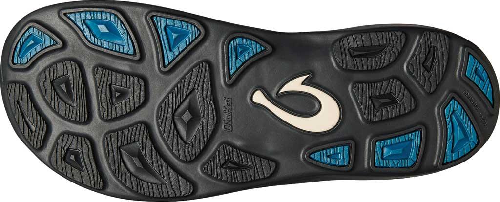 Men's OluKai Kipi Flip Flop, Black, large, image 4