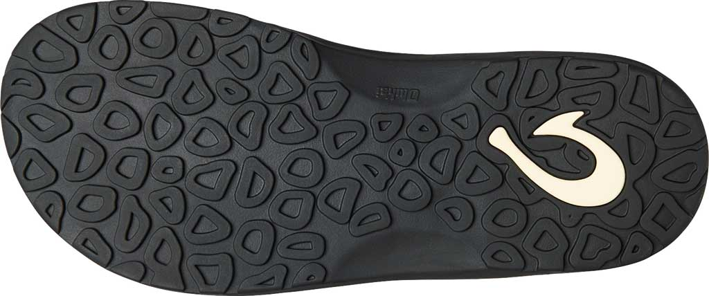 Men's OluKai Ohana Koa Flip Flop, Lava Rock/Lava Rock Synthetic, large, image 4