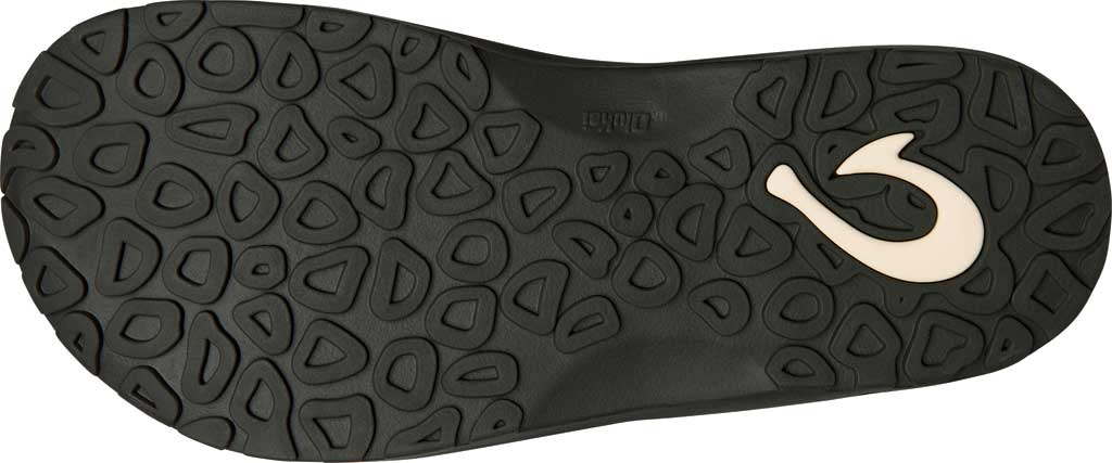 Men's OluKai Ohana Koa Flip Flop, Dark Shadow/Dark Shadow Synthetic, large, image 4