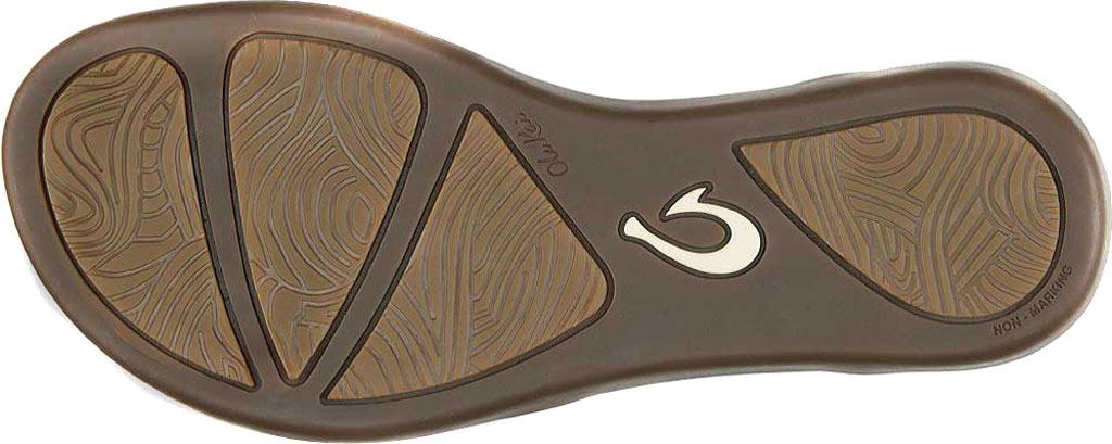 Women's OluKai Upena Quarter Strap Sandal, Mustard/Bubbly Leather, large, image 3