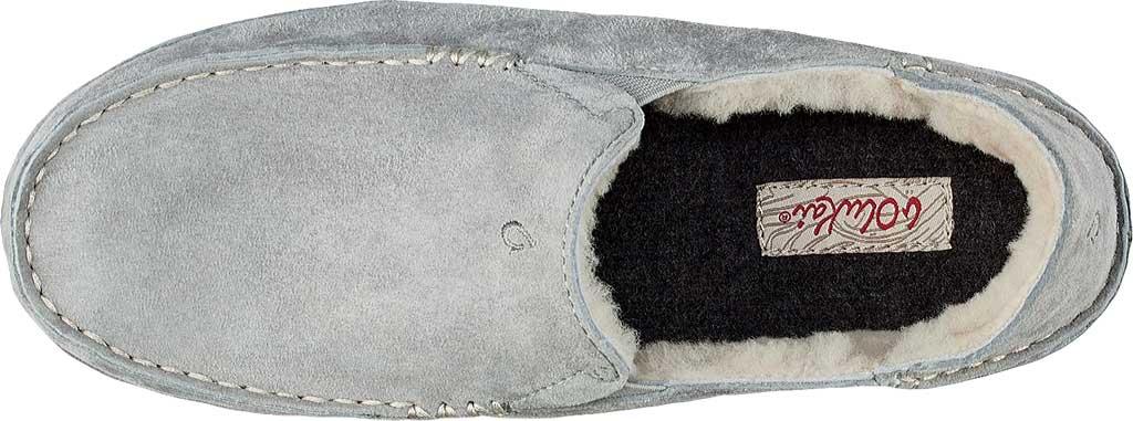 Women's OluKai Nohea Slipper, Pale Grey/Pale Grey Leather, large, image 3