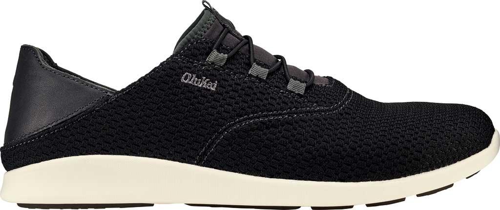 Men's OluKai Alapa Li Sneaker, Black/Dark Shadow Mesh, large, image 1
