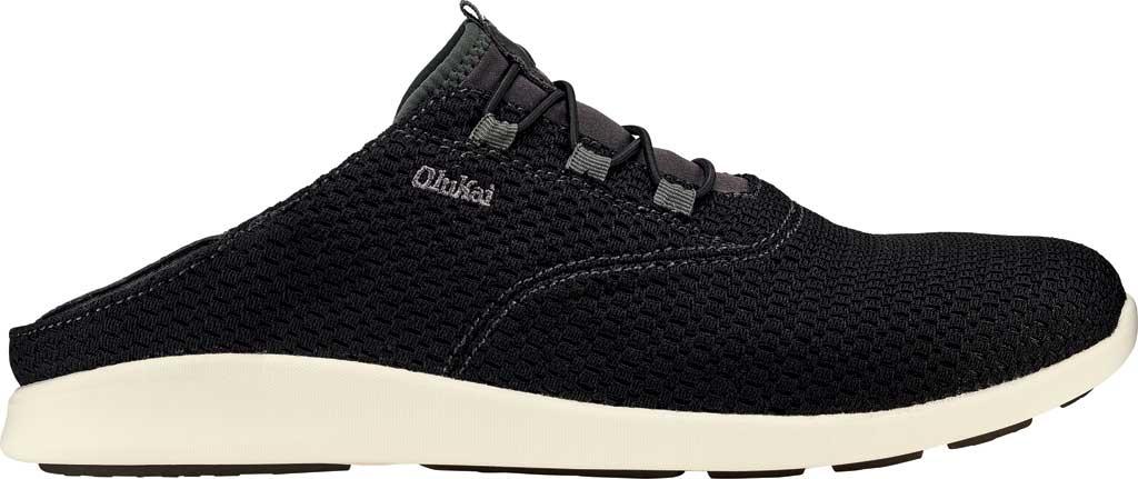 Men's OluKai Alapa Li Sneaker, Black/Dark Shadow Mesh, large, image 2