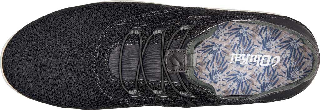 Men's OluKai Alapa Li Sneaker, Black/Dark Shadow Mesh, large, image 3