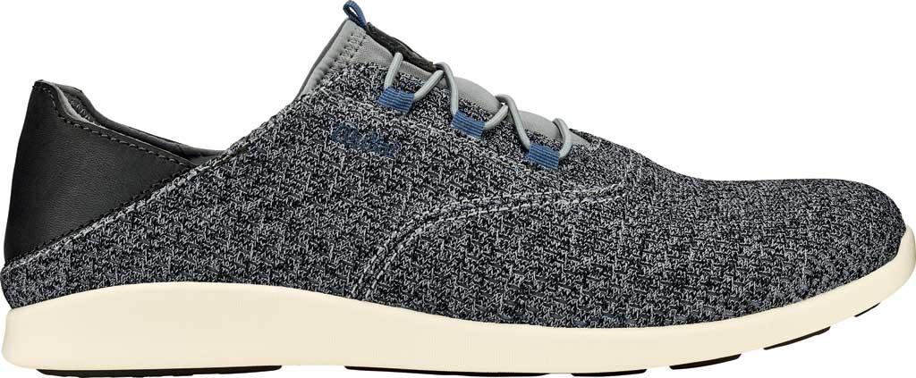 Men's OluKai Alapa Li Sneaker, Charcoal/Charcoal Mesh, large, image 1