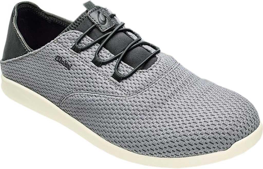 Men's OluKai Alapa Li Sneaker, Poi/Tradewind Grey Mesh, large, image 1