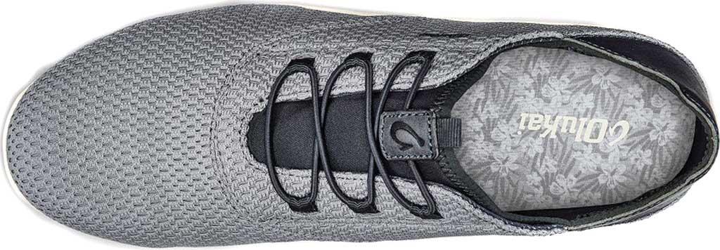 Men's OluKai Alapa Li Sneaker, Poi/Tradewind Grey Mesh, large, image 3