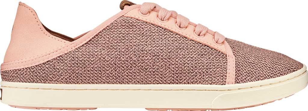 Women's OluKai Pehuea Li Sneaker, Dusty Pink/Dusty Pink Mesh/Synthetic Suede, large, image 1
