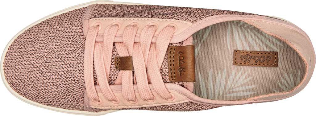Women's OluKai Pehuea Li Sneaker, Dusty Pink/Dusty Pink Mesh/Synthetic Suede, large, image 2