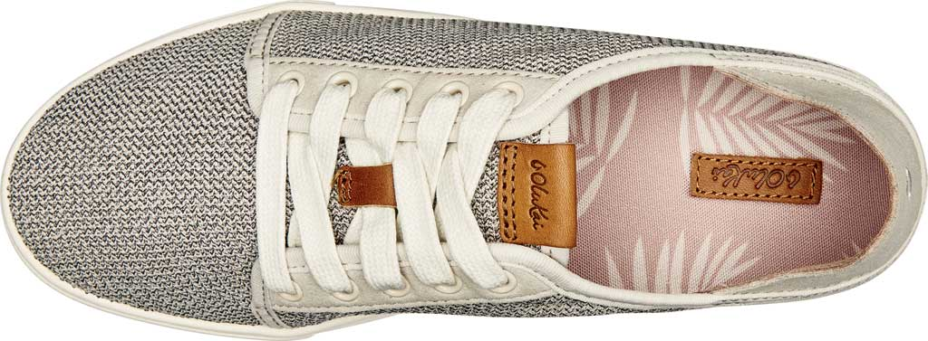 Women's OluKai Pehuea Li Sneaker, Tapa/Tapa Mesh/Synthetic Suede, large, image 3