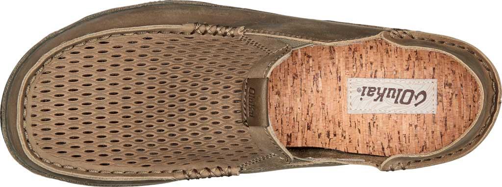 Men's OluKai Moloa Aho Slip-On, Clay/Husk Waxed Nubuck, large, image 3