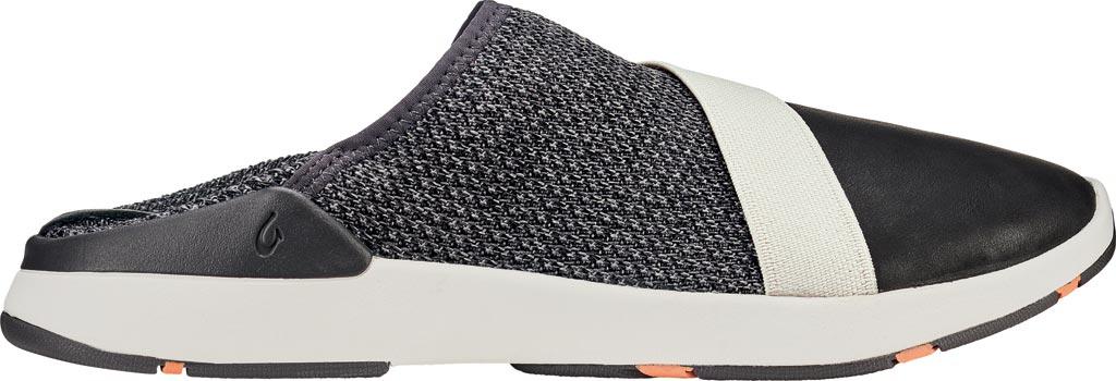 Women's OluKai Miki Slip On Sneaker, Fog/Black Textile, large, image 2