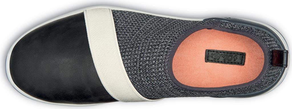 Women's OluKai Miki Slip On Sneaker, Fog/Black Textile, large, image 3