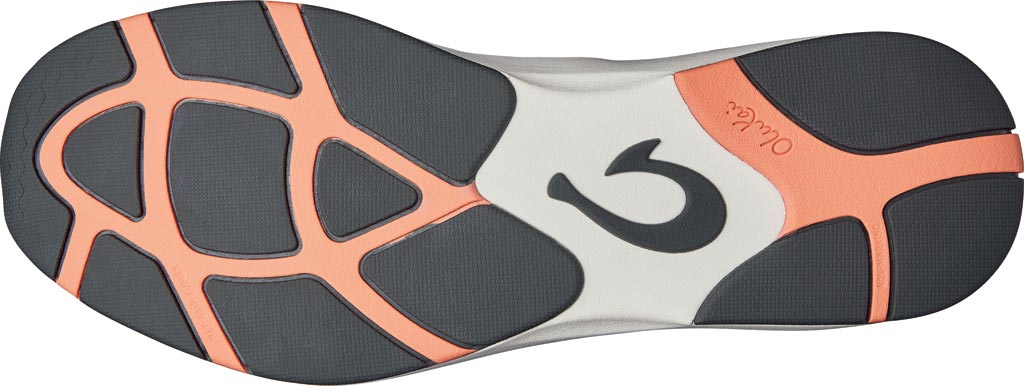 Women's OluKai Miki Slip On Sneaker, Fog/Black Textile, large, image 4