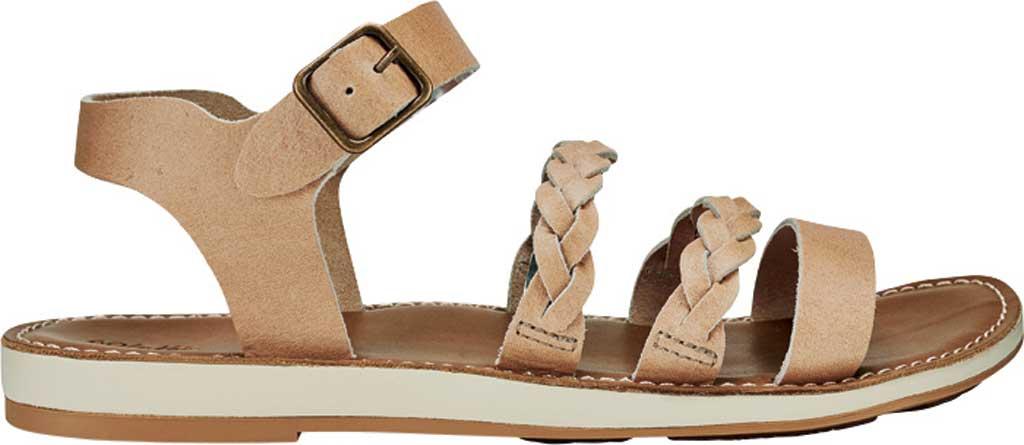 Women's OluKai Kahiko Ko'o Ankle Strap Sandal, Sting/Tan Leather, large, image 2