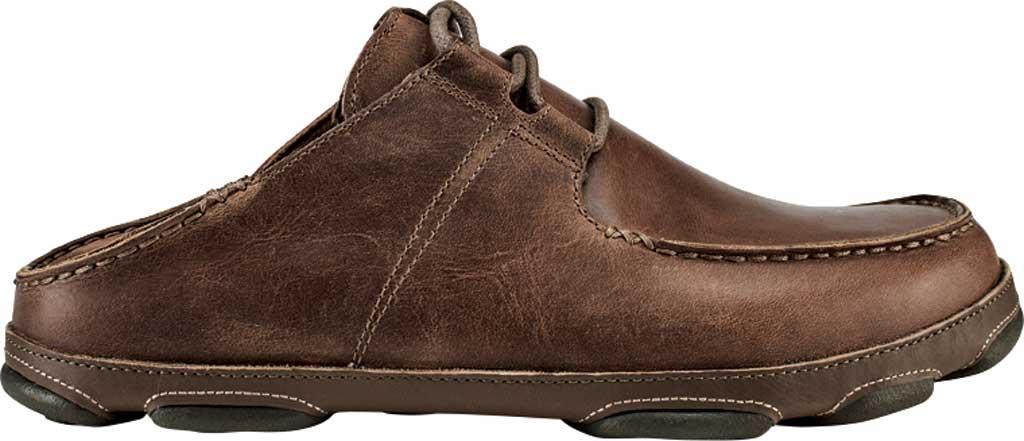 Men's OluKai Ohana Li 'Ili Slip On Shoe, Tan/Mustang Full Grain Leather, large, image 2