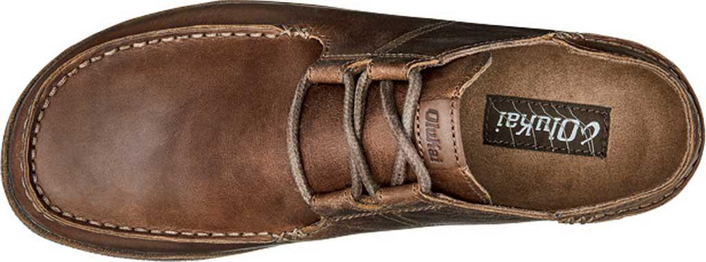 Men's OluKai Ohana Li 'Ili Slip On Shoe, Tan/Mustang Full Grain Leather, large, image 3