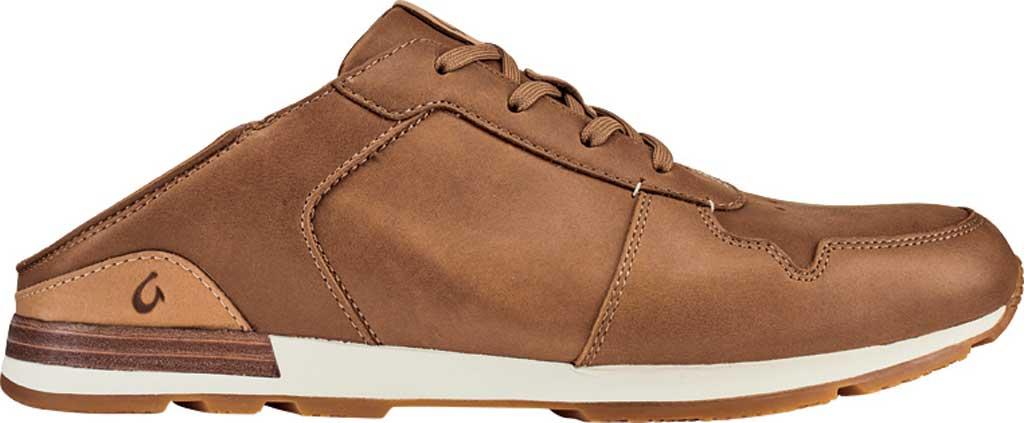 Men's OluKai Huaka'i Li Sneaker, Toffee/Toffee Nubuck Leather, large, image 2