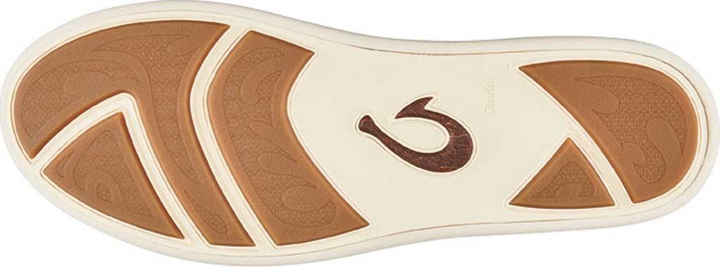 Men's OluKai Manoa Hulu Lace Up Sneaker, Pumice Stone/Sahara Textile, large, image 4