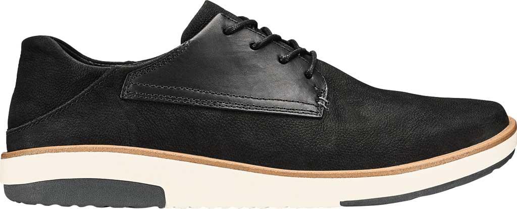 Men's OluKai Kalia Li Sneaker, Black/Black Nubuck, large, image 1