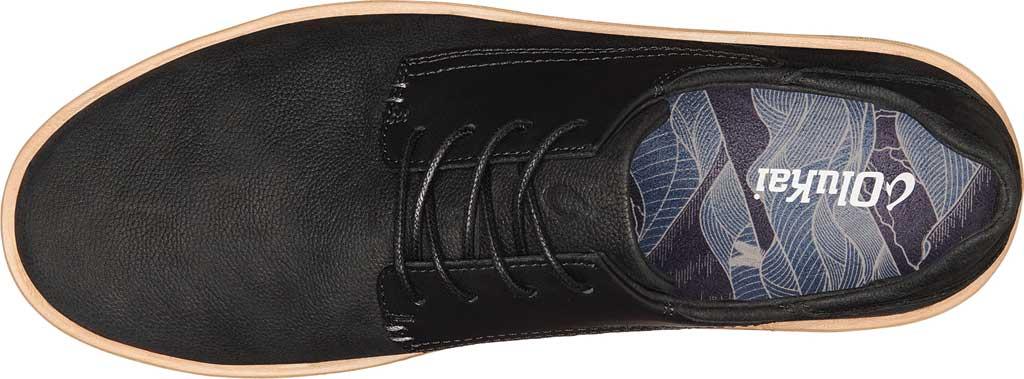 Men's OluKai Kalia Li Sneaker, Black/Black Nubuck, large, image 3