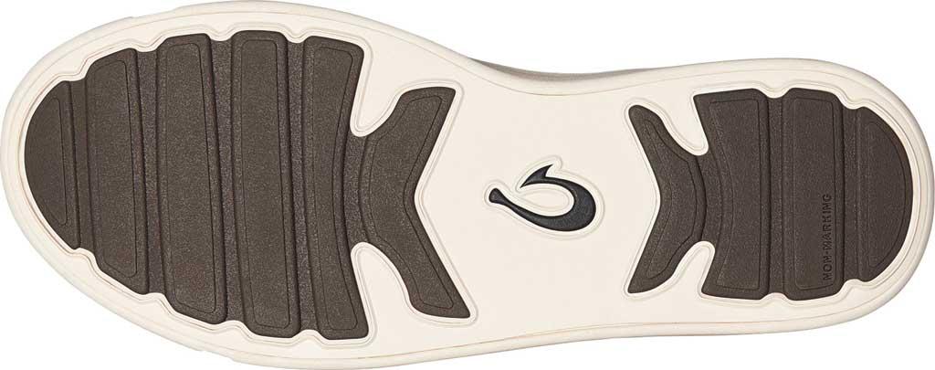 Girls' OluKai Pehuea Slip On Sneaker, Pavement/Pavement Full Grain Leather, large, image 4