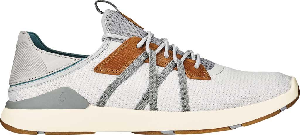 Men's OluKai Mio Li Sneaker, Mist Grey/Poi Mesh, large, image 1