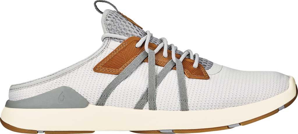 Men's OluKai Mio Li Sneaker, Mist Grey/Poi Mesh, large, image 2