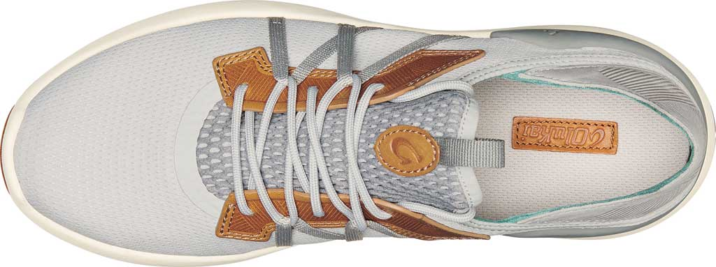 Men's OluKai Mio Li Sneaker, Mist Grey/Poi Mesh, large, image 3