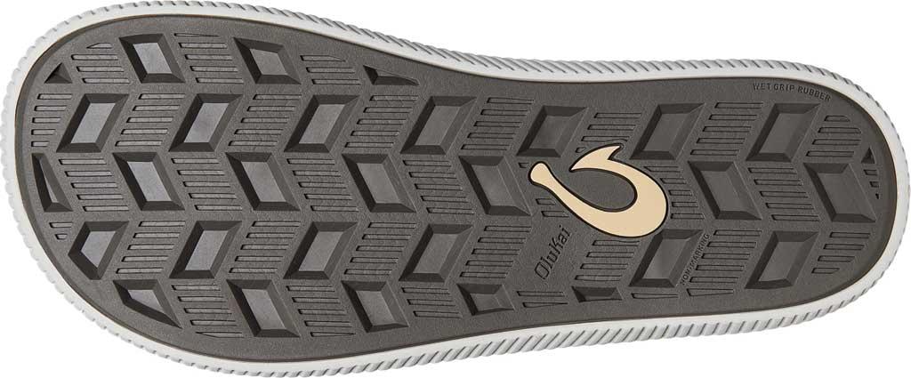 Men's OluKai Ulele Thong Sandal, Stone/Stone Synthetic, large, image 4