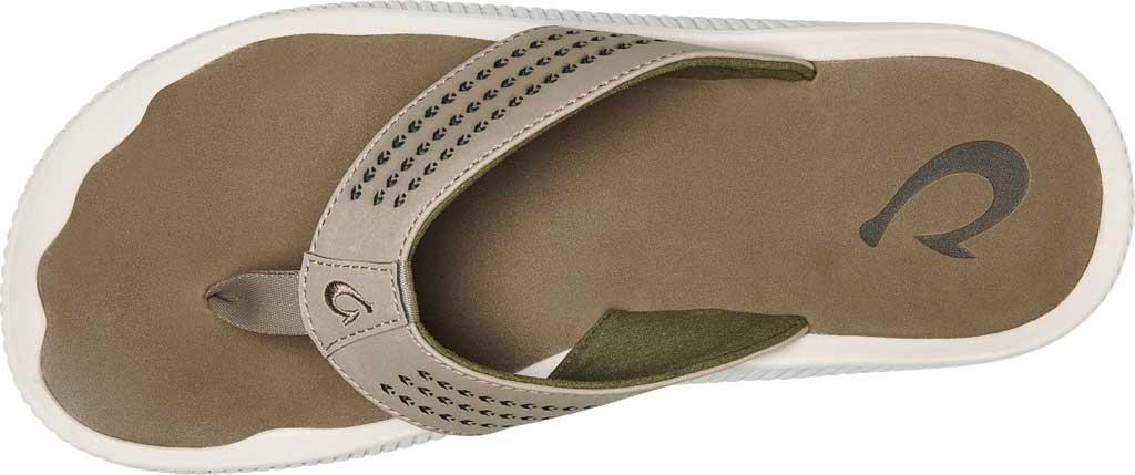 Men's OluKai Ulele Thong Sandal, Clay/Mustang Synthetic, large, image 2