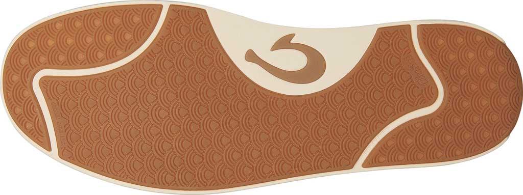 Men's OluKai Lae'Ahi Li 'Ili Sneaker, Charcoal/Charcoal Full Grain Leather, large, image 4