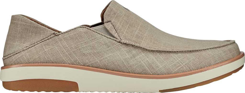 Men's OluKai Kalia Kapa Slip On Sneaker, Silt/Silt Linen, large, image 2