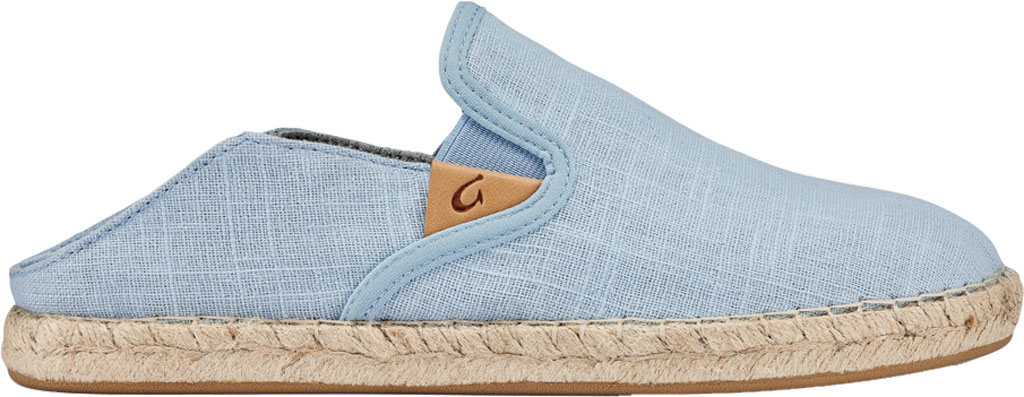 Women's OluKai Kaula Pa'A Kapa Slip On Sneaker, Lanai Breeze/Lanai Breeze Linen Canvas, large, image 2