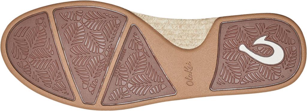 Women's OluKai Kaula Pa'A Kapa Slip On Sneaker, Rose Sea Salt/Rose Sea Salt Linen Canvas, large, image 4