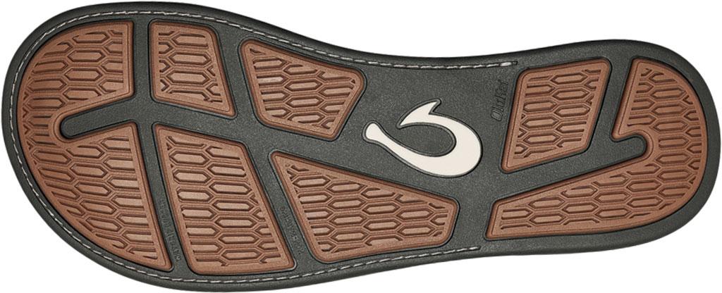 Men's OluKai Malanai Flip Flop, Banyan/Banyan Synthetic Nubuck, large, image 4