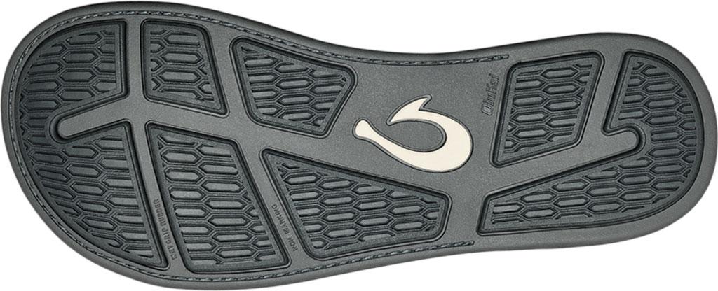 Men's OluKai Malanai Flip Flop, Ombre Blue/Sharkskin Synthetic Nubuck, large, image 4