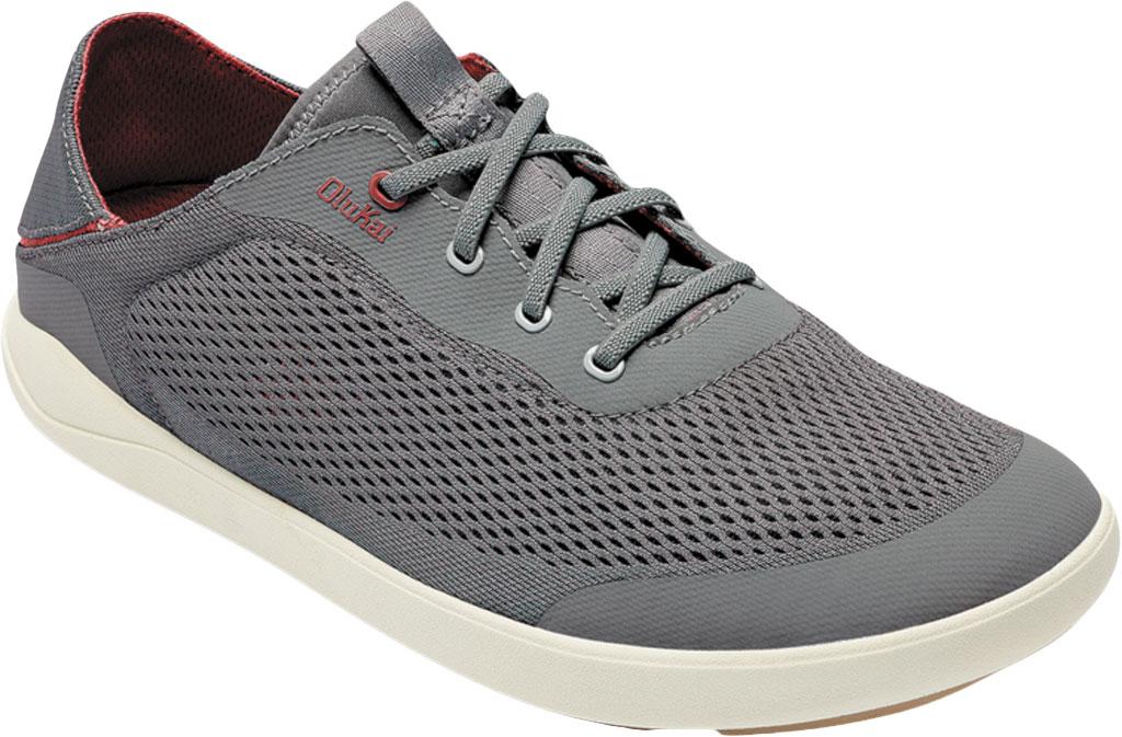 Men's OluKai Moku Pae Sneaker, Poi/Red Ochre Engineered Mesh, large, image 1