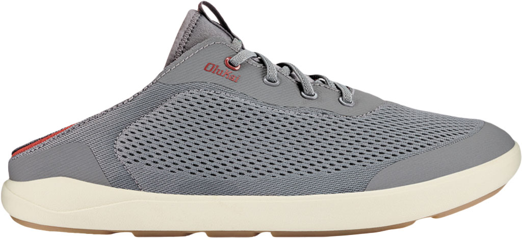Men's OluKai Moku Pae Sneaker, Poi/Red Ochre Engineered Mesh, large, image 2