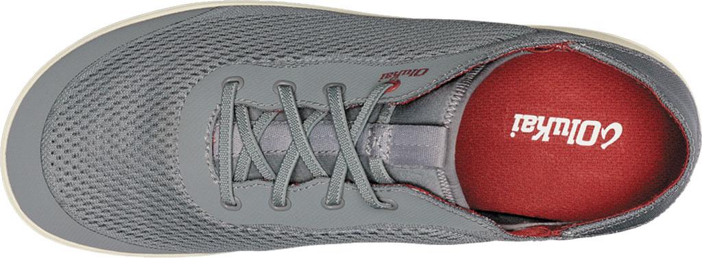 Men's OluKai Moku Pae Sneaker, Poi/Red Ochre Engineered Mesh, large, image 3