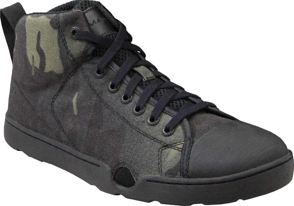 Men's Altama Footwear OTB Maritime Assault Mid Boot, Black Multicam Cordura, large, image 1
